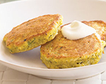 Fresh Corn Cakes with Chives
