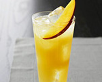 Fresh Mango Collins Cocktail