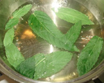 Fresh Mint and Ginger Simple Syrup