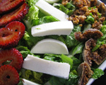 Fresh Mozzarella, Fig and Strawberry Salad