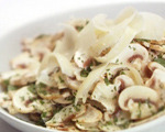 Fresh Mushroom, Parmesan and Parsley Salad