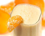 Fresh Orange and Cantaloupe Drink
