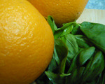 Fresh Orange and Fresh Basil Dressing