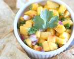 Fresh Peach and Jalapeno Salsa