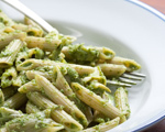 Fresh Spinach and Basil Pesto Sauce