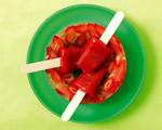 Fresh Strawberry Popsicles