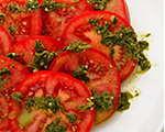 Fresh Tomatoes and Pesto