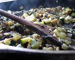 Fresh Zucchini and Mushroom Sauté