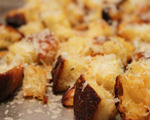 Freshly Grated Parmesan Cheese Croutons