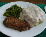 Fried Venison Steak