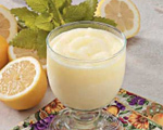 Frosty Lemonade Dessert Drink