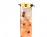 Fruit and Gingerly Cocktail