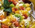 Overnight Layered Fruit Salad
