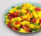 Pineapple Macadamia Salsa
