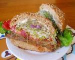 Garden Topped Burger