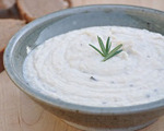 Garlic-Rosemary White Bean Dip