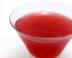 Gin and Pomegranate Juice Cocktail