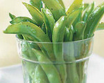 Gingery Sugar Snap Peas