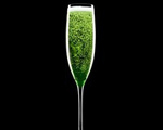 Gorgeous in Green Champagne Cocktail