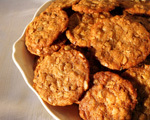 Yogurt and Granola Probiotic Cookies