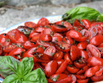 Grape Tomato and Balsamic Salad