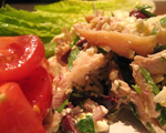 Greek Chicken Salad with Lemon Vinaigrette