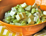 Greek Lima Bean Salad