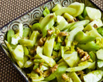 Green Apple, Celery, and Walnut Salad