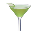 Green Dublin Apple Martini
