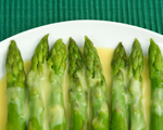 Grilled Asparagus with Creamy Italian Zabaglione Sauce
