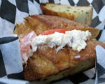 Grilled Crab Sandwiches