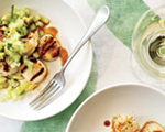 Grilled Scallops with Honeydew Salsa