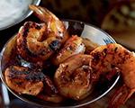 Grilled Shrimp with Yogurt Remoulade Sauce