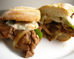 Grilled Steak and Pepper Sandwiches