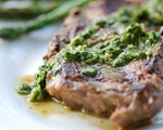 Grilled Steak with South American Chimichurrie Sauce