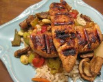 Grilled Teriyaki Chicken Breasts