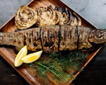 Grilled Wild Trout