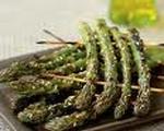 Grilled Herbed Parmesan Asparagus