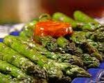 Grilled Asparagus & Sweet Pepper Salad 