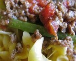 Ground Beef and Pepper Skillet