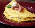 Bacon-Sour Cream Omelet