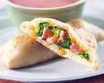 Low Fat Ham and Cheese Turnovers