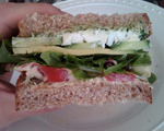 Hearty Veggie Sandwich