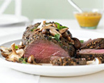 Herb and Garlic Beef Tenderloin