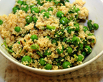 Herbed Couscous and Pea Medley