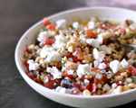 Herbed Sweet Corn and Tomato Salad