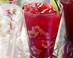 Hibiscus Tea Cocktail