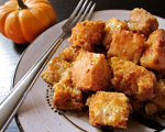 Holiday Pumpkin Bread Pudding