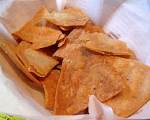 Homemade Crispy Tortilla Chips