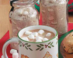 Homemade Hot Cocoa Mix with Marshmallows